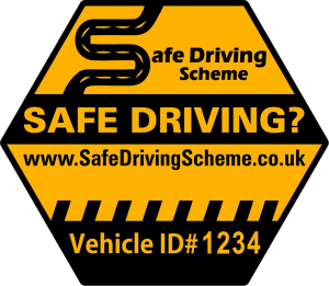 How's My Driving Sticker from the Safe Driving Scheme